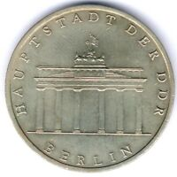 "DDR 5 Mark 1971 A. ""Brandenburger Tor"" MzSt. Berlin Jaeger 1536, ss/vz"