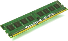 Kingston ValueRAM 8 Go 1X8GB Module De Mémoire DDR3 1333 MHz PC3-10600 DIMM Ordinateur De Bureau