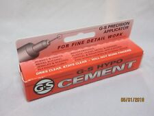 G&S Hypo Cement - Suitable For  Watch Glasses and Craftwork