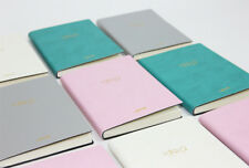 A6 Notebook Note Pad Faux Leather Planner Journal Sketch Book Fashion Diary Cute