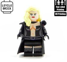 LYL BRICK Custom Emma Frost BLack Lego Minifigure