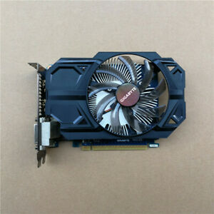 Original GIGABYTE NVIDIA GeForce GTX 750 Ti GV-N75TD5-2GI 128Bit 2 GB Video Card