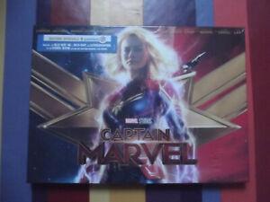 Coffret édition spéciale Blu Ray 4K Captain Marvel NEUF