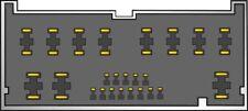 MAZDA MPV 2000 ONWARDS NON BOSE CD STEREO ISO WIRING HARNESS ADAPTOR PC2-78-4