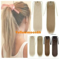 """Thick One Hairpices Ponytail 100% Real Remy Human Remy Hair Extensions 15-24"""""""
