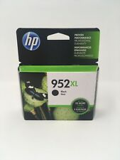 NEW Genuine HP 952XL Black Ink Cartridge, High Yield F6U19AN OEM Exp. 2019-2020