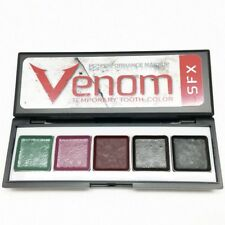 Halloween Temp Tooth Color SFX Horror Witch Pirate EBA Venom Palette FX Makeup