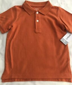 Carter's Toddler Boy Short Sleeve Solid Polo 2T NWT