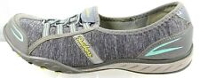 Women's Skechers 22468 Relaxed Fit Memory Foam Gray US 9, EUR 39 Athletic Shoes