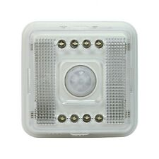 Wireless IR Rilevatore 120° Sensore di Movimento PIR 8 LED Salva Energia ap7e