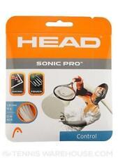 Head Sonic Pro 16 Control Tennis Racket Strings 40' White