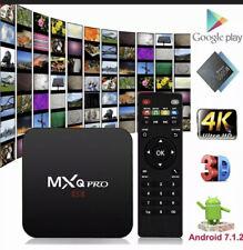 MXQ Pro 4K Ultra HD 64Bit Wifi Quad Core Smart TV Box- (SK432)