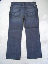 Kasil Dylan Jeans Mens Low Rise Bootcut in Dark Atlantic Sz 33 X 28
