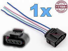 1x 4 PINS CONNECTOR IGNITION COIL  AUDI VW SKODA SEAT FORD PLUG WIRING 1J0973724