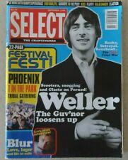 Select Magazine, September 1996, Paul Weller, Blur, Boo Radleys, Fluffy