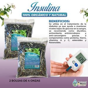 Insulina gymnema sylvestre regula los niveles de azúcar 8Oz (2 bolsas de 4Oz)