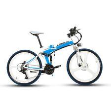 Full Suspenion 27 Speed Moutain Bike 240W 36V 8.8AH Foldable Electric Bike 26IN