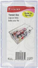 SINGER Clear Plastic Thread Box. Sizzix. Best