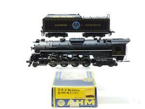 HO AHM 5061-06 RFP Richmond Washington 2-8-4 Steam Locomotive & Tender #574