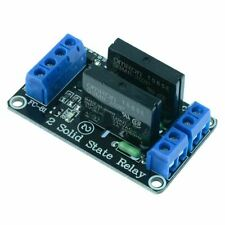 5V 2 Channel Solid State Relay Board SSR Raspberry Pi Arduino PIC