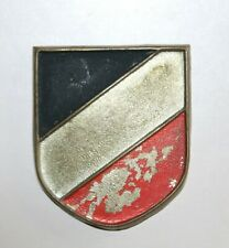 WW2 German Africa Corps Helmet Shield. Australian Soldiers Nth Africa Souvenir.