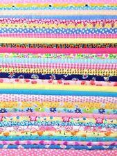 Patchwork Unbranded Polycotton Craft Fabrics