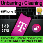 T-MOBILE USA UNBARRING CLEANING SERVICE IPHONE 13 PRO MAX 12PRO 11PRO 11 XS XR X