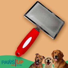 PAWS UP Pet Grooming Pet Rectangular Slicker Pin Comb Brush SMALL