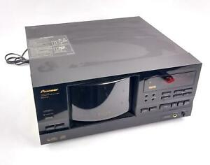 Vintage 1999 Pioneer PD-F17 CD Changer 300+1 CD Carousel No REMOTE - WORKING
