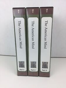 The Teaching Company, The American Mind, Parts 1,2,3  18 CD's & 3 Booklets
