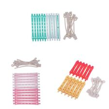 36 PCS DIY Hairstyling Curlers Spiral Styling Rollers Perm Rods Barber Tools