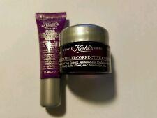 Kiehl's Super Multi-Corrective  Cream 0.25 oz & Eye-Opening Serum 0.1 oz
