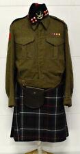 Wwii Canadian Seaforth Regiment Scottish Highlander Lt. Uniform - lot