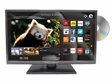 "24"" Mitchell and Brown HD Ready Freeview Smart TV with DVD, WiFi & USB Playback"