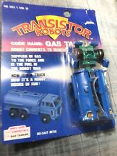 Transformer Knock Off Transistor Robots 1987 Has Tanker Robot Four Star Rare!!