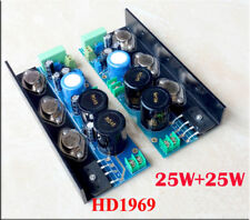 1  Pair HD1969 power pure class A amplifier kit amp DIY kit 25W+25W