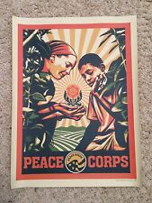 Shepard Fairey Peace Corps Print - 11 x 14.5 Inches