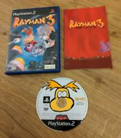 Rayman 3 Hoodlum Havoc Sony Playstation 2 PS2 Game Complete with Manual Free P&P