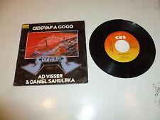 "Ad VISSER & DANIEL SAHULEKA-GIDDYAP A GOGO - 1982 Olandese 7"" SINGOLO JUKE BOX"