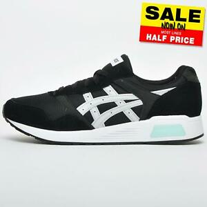 Asics Tiger Lyte Mens Casual Classic Retro Running Shoes Trainers Black
