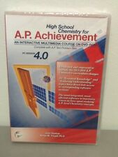 High School Chemistry for Ap Achievement, Interactive Course, Dvd-Rom, W/ Tests