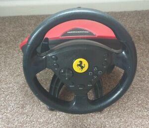 Thrustmaster Steering Wheel PS2 PS3 Ferrari 458 Spider ***STEERING WHEEL ONLY***