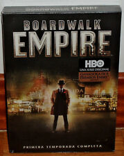BOARDWALK EMPIRE 1ª SEASON COMPLETE 5 DVD+BOOK NEW SEALED (UNOPENED)