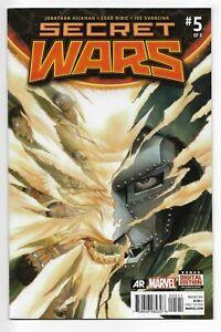 Secret Wars #5 Marvel Comics 2015 VF+