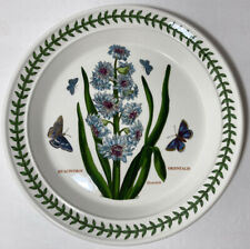 "Portmeirion Botanic Garden England Salad Plate Eastern Hyacinth Hyachinthus 8.5"""