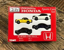 Tomica Powered by Honda Sports Car Set S2000 S800 NSX Beat 1/64 diecast