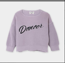 Bobo choses 2-3 years lilac Dancer knitted jumper