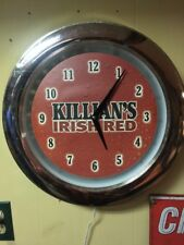 "15"" Killians Irish Lighted Beer Clock"