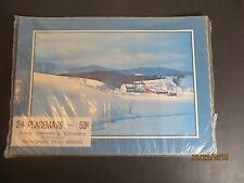 Vintage 24 Paper Placemats Winter's Cloak Springfield Acles Sealed