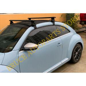 For Volkswagen Beetle 2004-2016 Black Alloy Baggage Luggage Carrier Roof Racks j